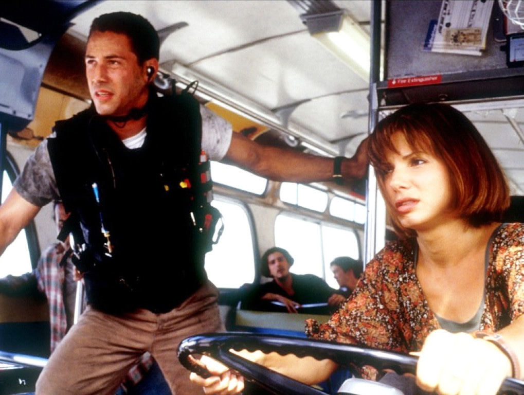 Speed, Sandra Bullock, Keanu Reeves