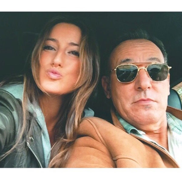Jessica Springsteen, Bruce Springsteen, Instagram