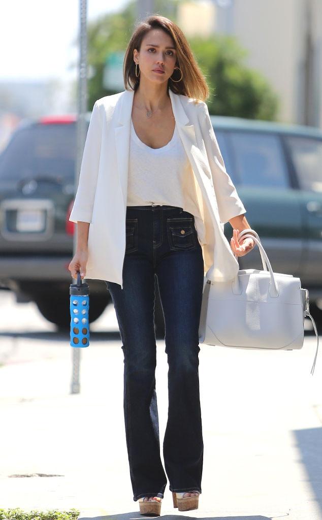 Jessica Alba, Street Style