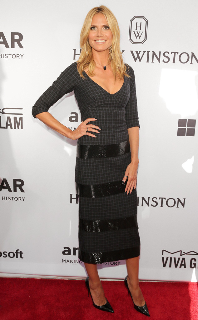 Heidi Klum, amfAR