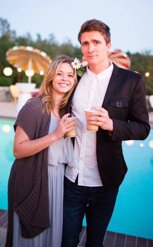 Vanessa Ray, Landon Beard, Wedding