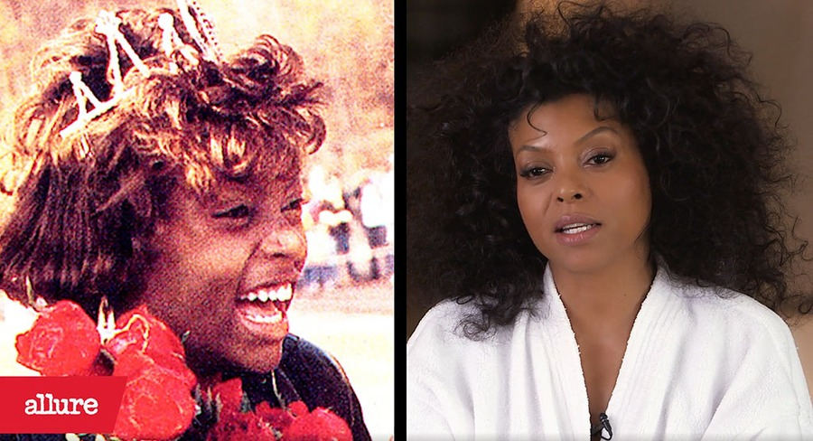 Taraji P. Henson, Allure, Prom Pic, Before and After
