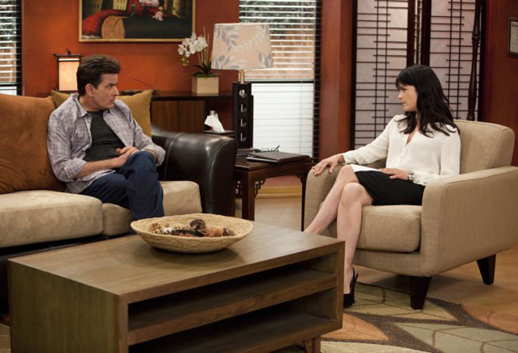 Charlie Sheen and Selma Blair, Anger Management, Tv Costar Feuds