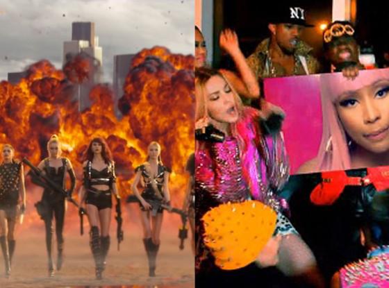 Taylor Swift, Bad Blood, Madonna, Bitch I'm Madonna