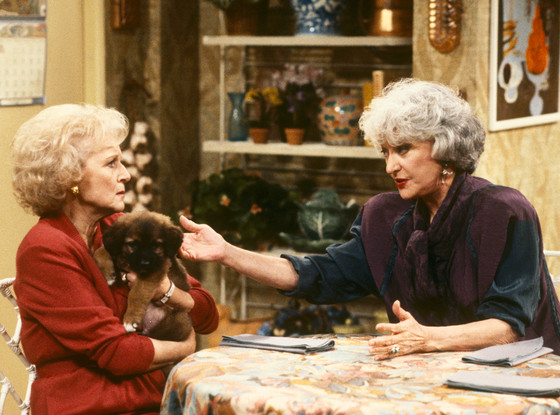 Bea Arthur, Betty White, The Golden Girls, Tv Costar Feuds