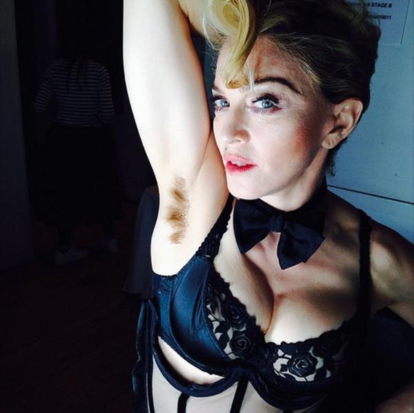 Madonna, Armpit Hair