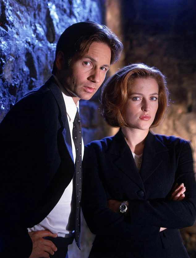 David Duchovny, Gillian Anderson, The X-Files,Tv Costar Feuds