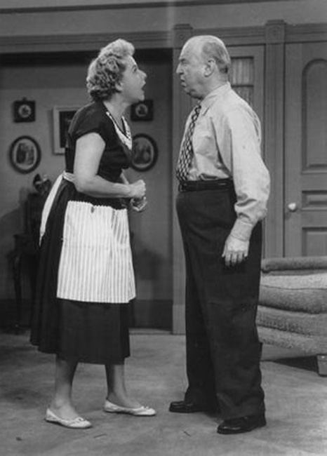 Vivian Vance and William Frawley, I Love Lucy, Tv Costar Feuds