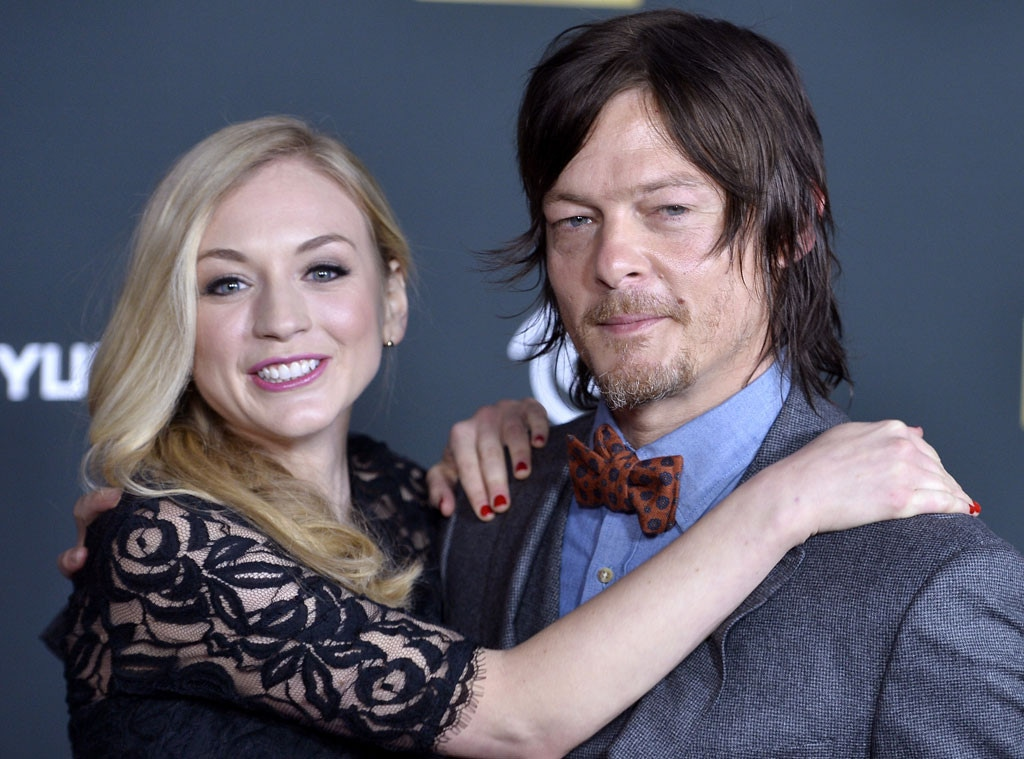 Norman reedus and emily kinney married