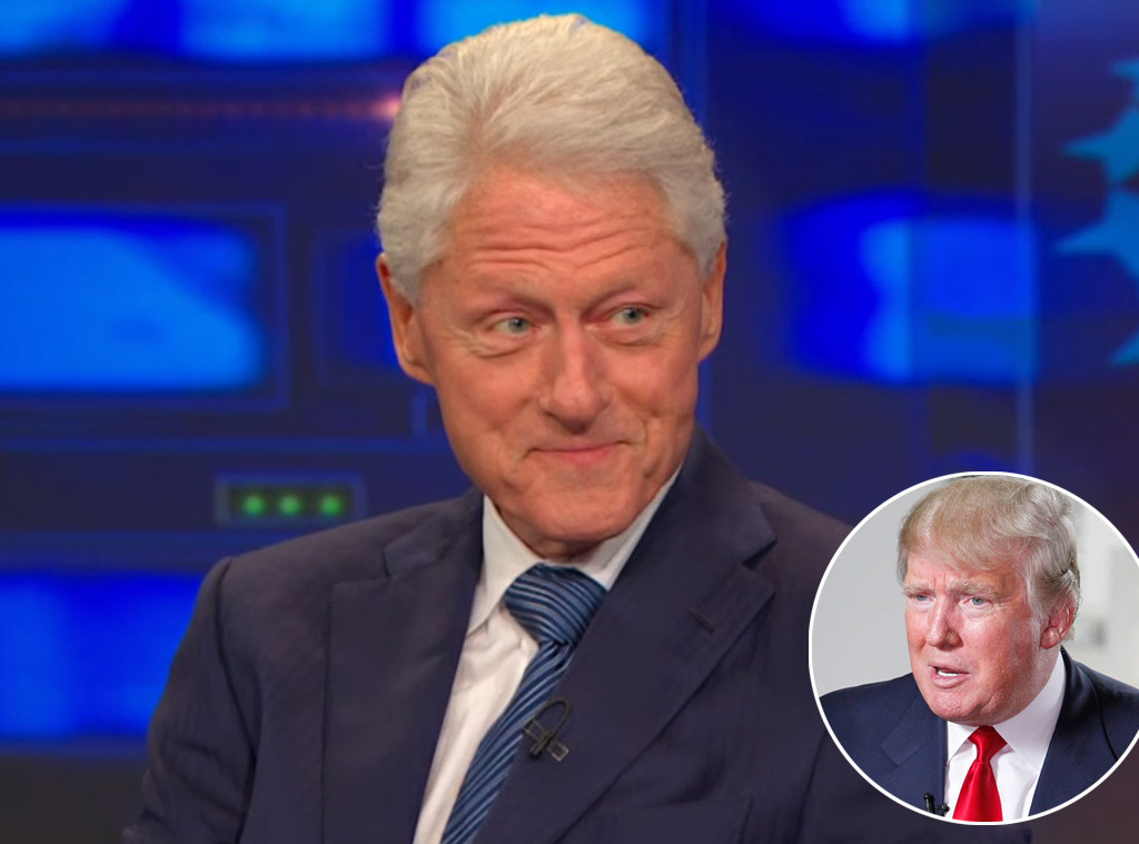 Bill Clinton, The Daily Show, Trump, Good Morning America