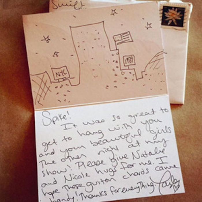 Taylor Swifts Handwritten Thank You Notes Arent Going Unnoticed