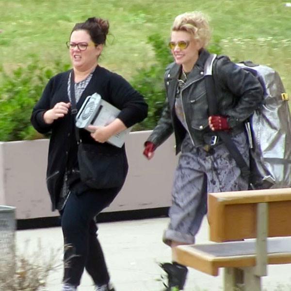 Melissa McCarthy, Kate McKinnon, Ghostbusters