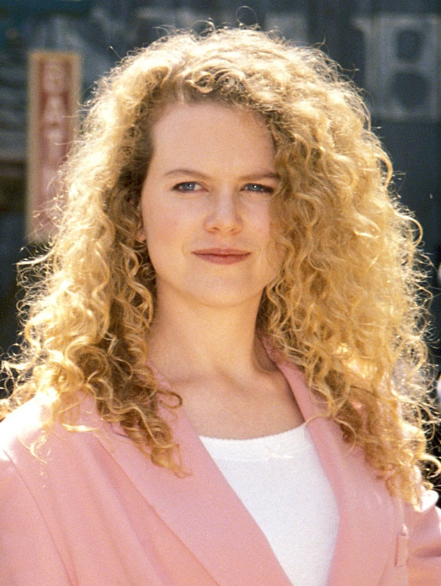 Nicole Kidman, 1992, Hair