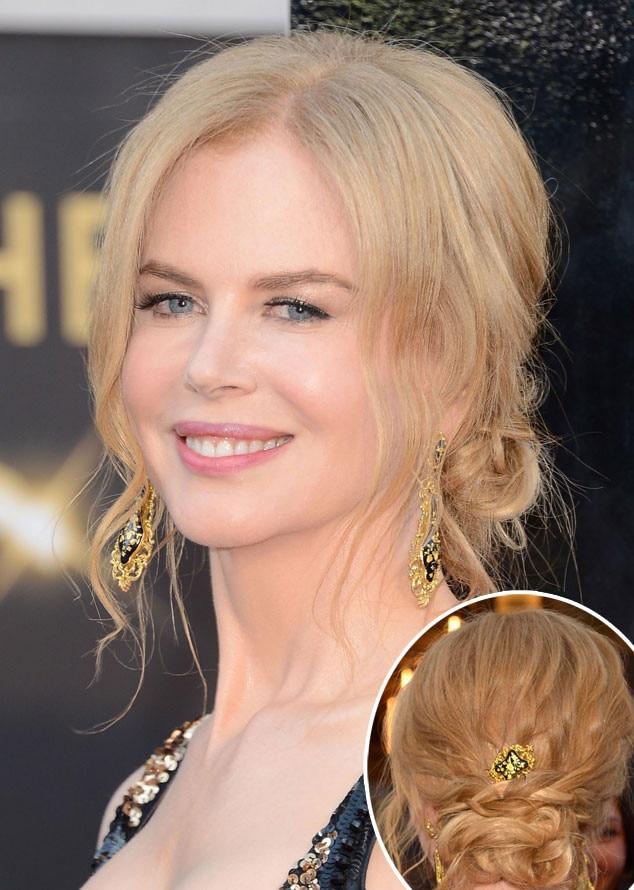 Nicole Kidman, Oscars, 2013, Hair