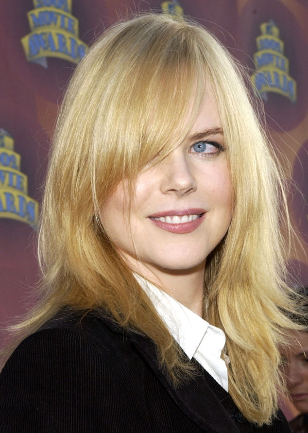 Nicole Kidman, MTV Movie Awards, 2002, Hair