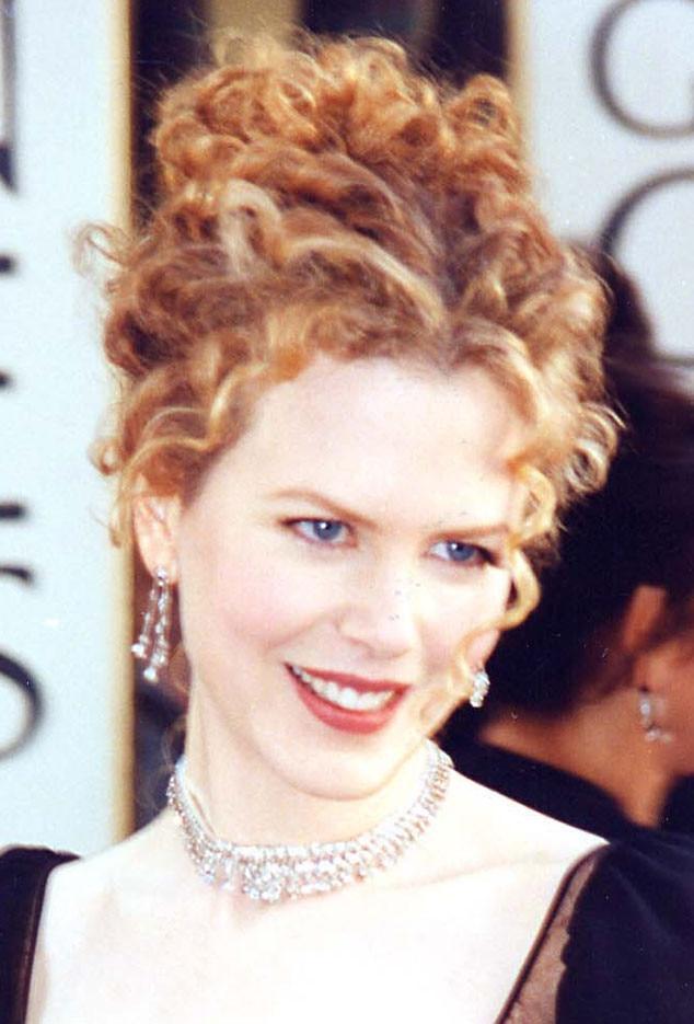 Nicole Kidman, Golden Globes, 1997, Hair
