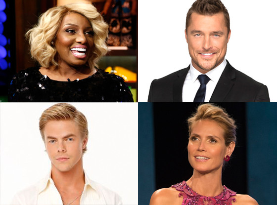 Atlanta Housewives, The Bachelor, Dancing with the Stars, Project Runway