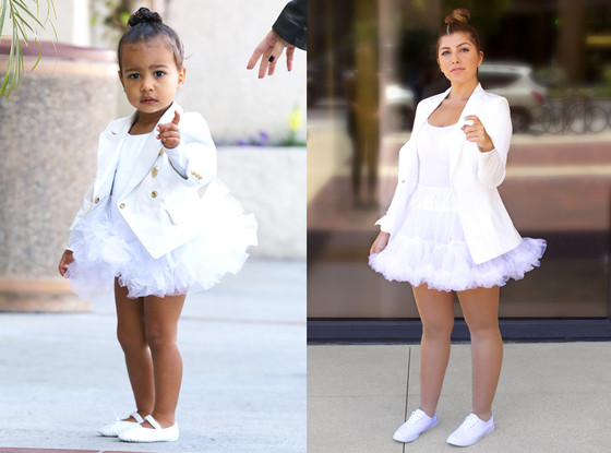 Bruna, North West Outfits