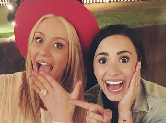 Iggy Azalea, Demi Lovato