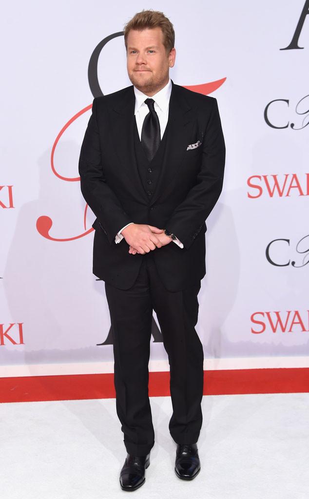 James Corden, CFDA Fashion Awards