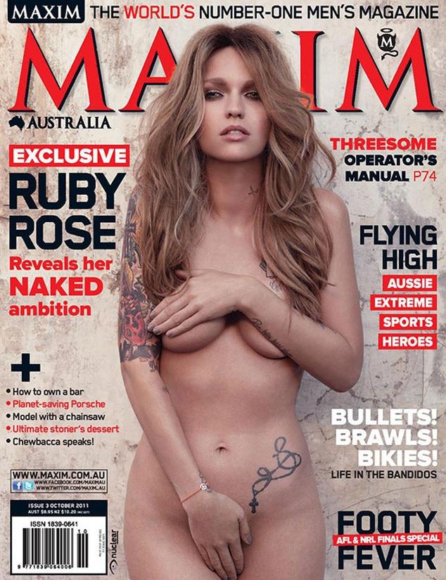 nude models magazine Maxim