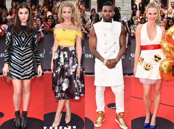 Worst Dressed, Danielle Graham, Hailee Steinfeld, Jason Derulo, Nicole Arbour, 2015 MuchMusic Video Awards