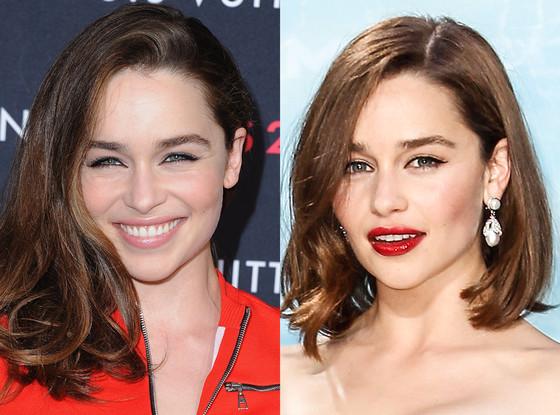 Emilia Clarke, Hair
