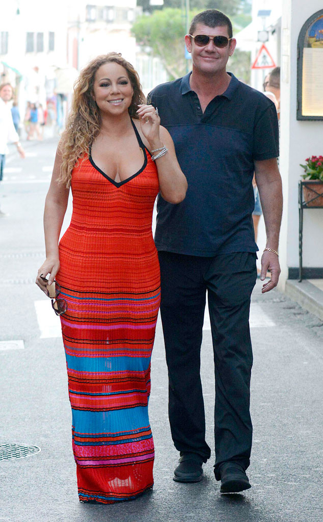 Mariah Carey and James Packer Not Talking Marriage but