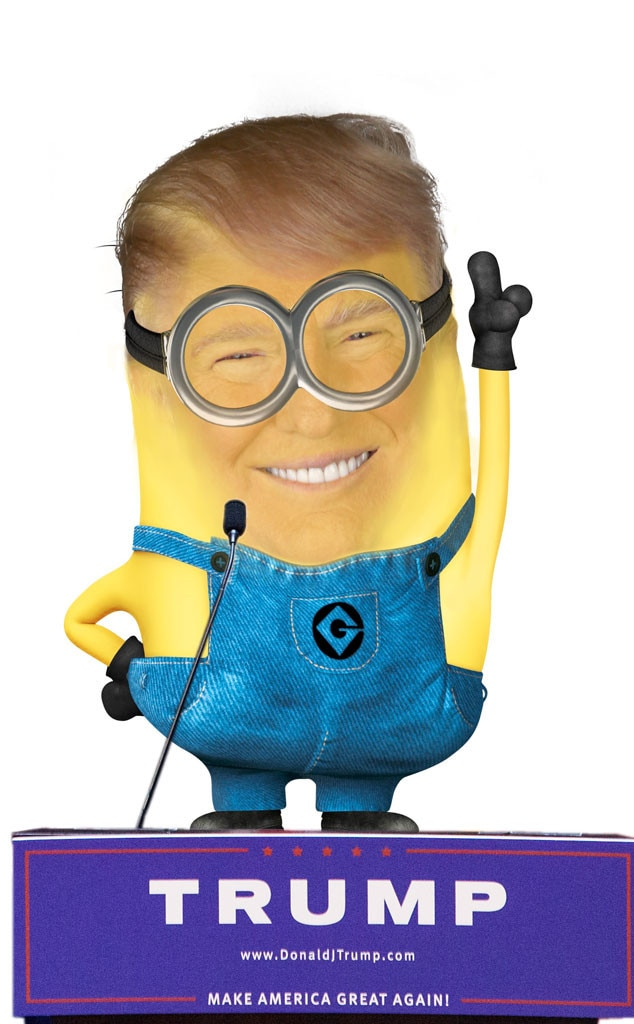 hillary clinton from celebrity minions e news