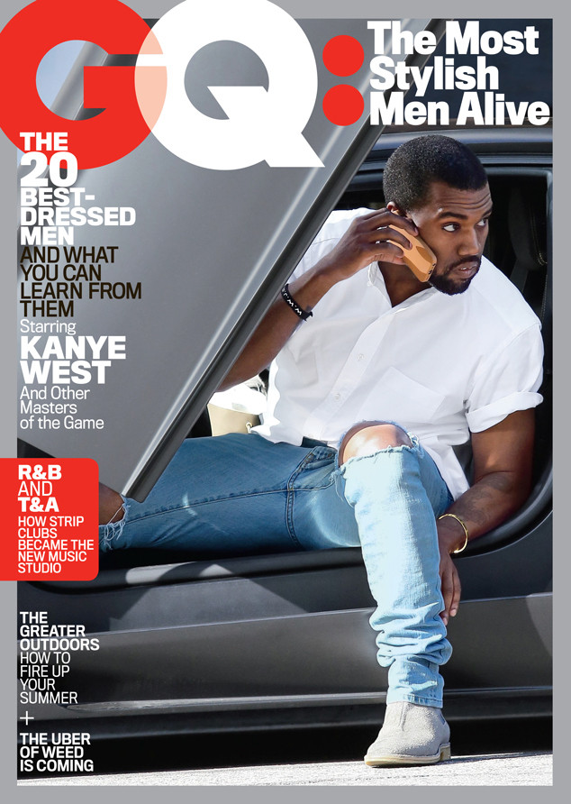 710e465b44f336 Kanye West Named One of the Most Stylish Men Alive by GQ Magazine ...