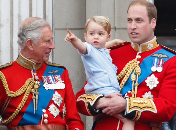 Prince Charles, Prince George, Prince William