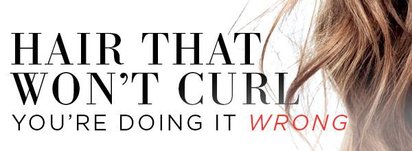 ESC, Curling Hair