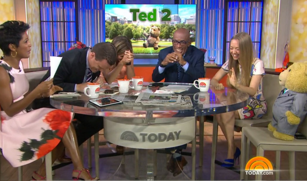 Amanda Seyfried, Today Show