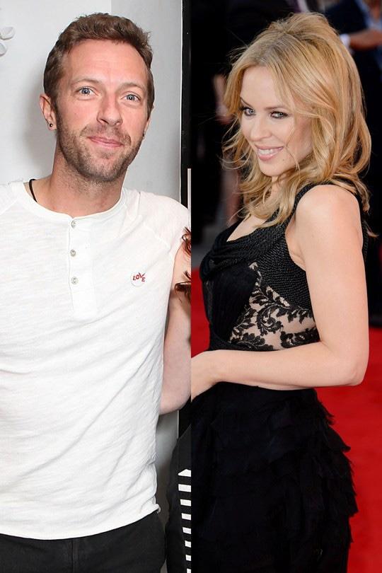 Kylie Minogue, Chris Martin