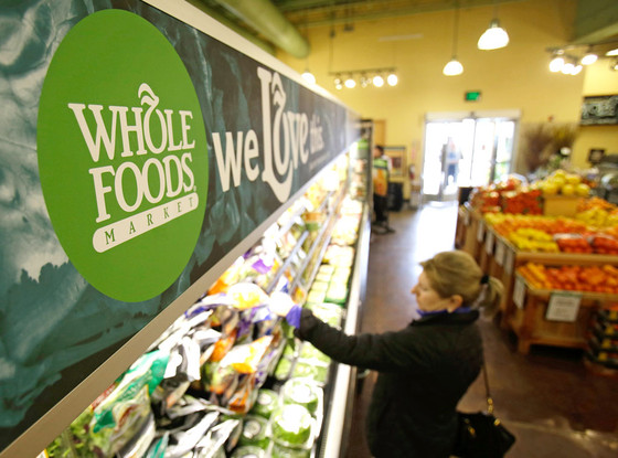 Whole Foods Store Interior