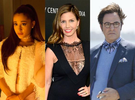 Scream Queens, Ariana Grande, Charisma Carpenter, Roger Bart