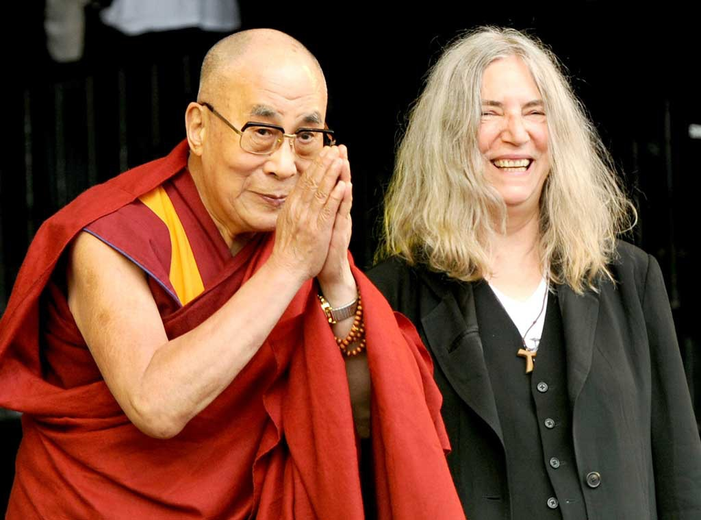 Dalai Lama & Patti Smith from Musicians Performing Live on