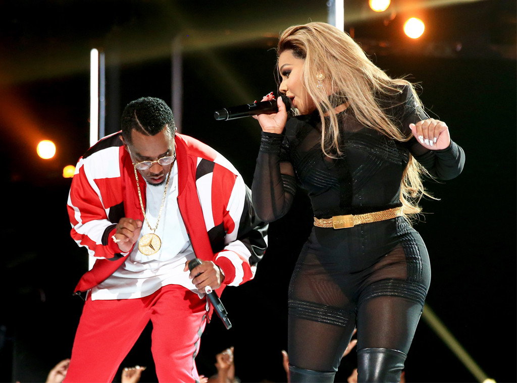 "Sean ""Diddy"" Combs, Lil' Kim, 2015 BET Awards"