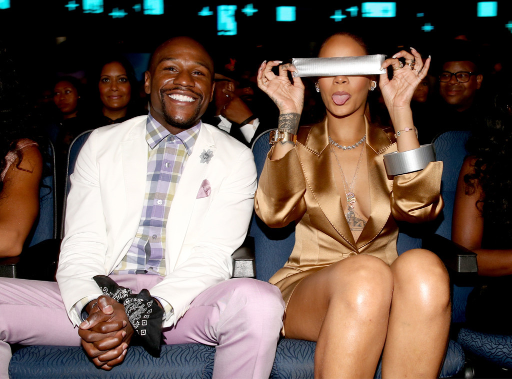 Rihanna, Floyd Mayweather, Jr., 2015 BET Awards