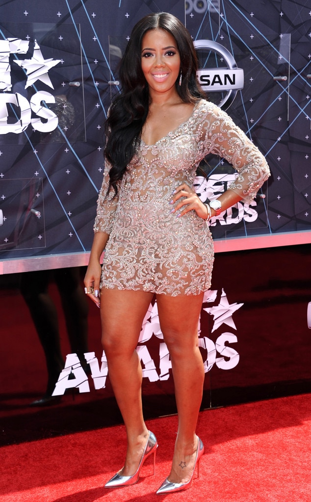 Angela Simmons From 2015 Bet Awards Red Carpet Arrivals