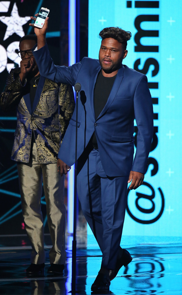 Anthony Anderson, 2015 BET Awards