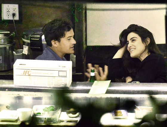 Orlando Bloom, Luisa Moraes