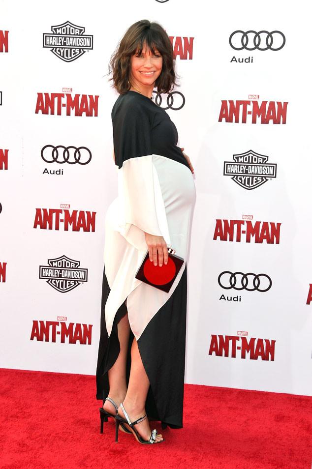 Evangeline Lilly, Pregnant