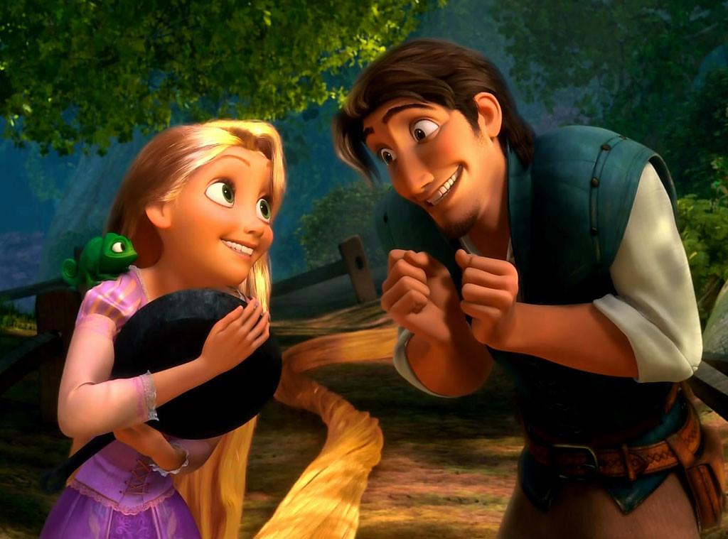 Rapunzel, Flynn, Tangled