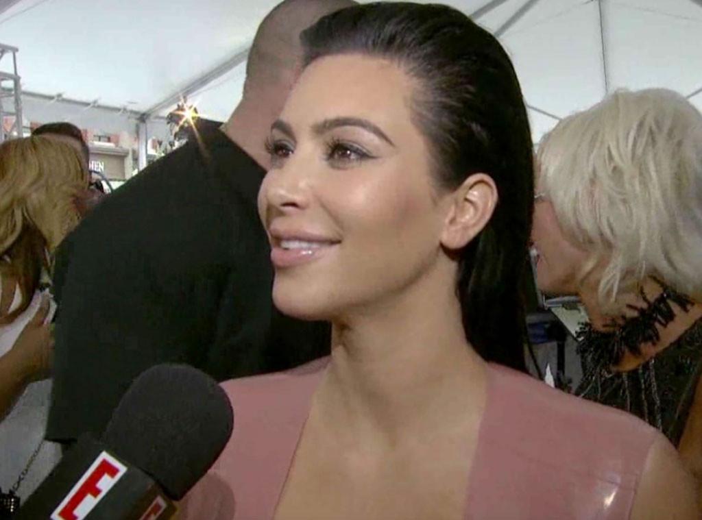 Kim Kardashian, E! News