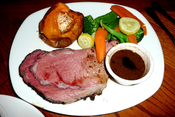 9 most fattening meals in America, Outback Steakhouse Herb Roasted Prime Rib