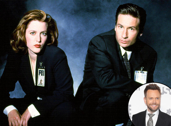X-Files, David Duchovny, Gillian Anderson, Joel McHale