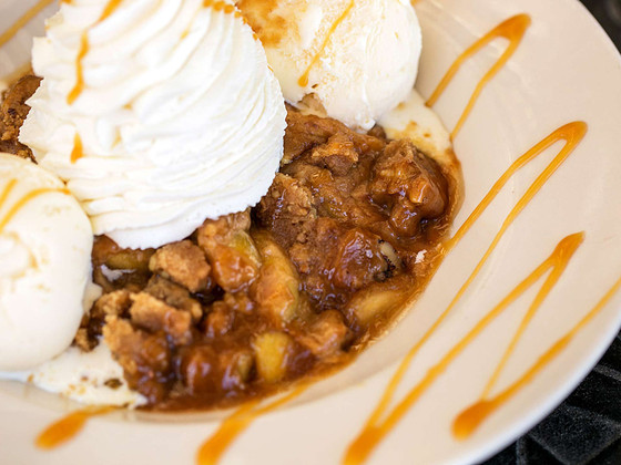 9 most fattening meals in America, Cheesecake Factory Warm Apple Crisp