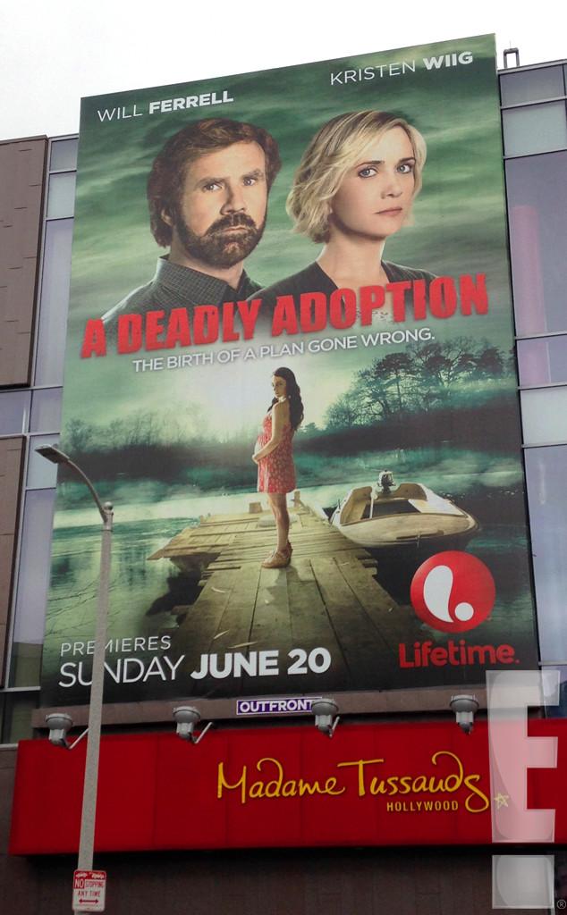 A Deadly Adoption, Will Ferrell, Kristen Wiig