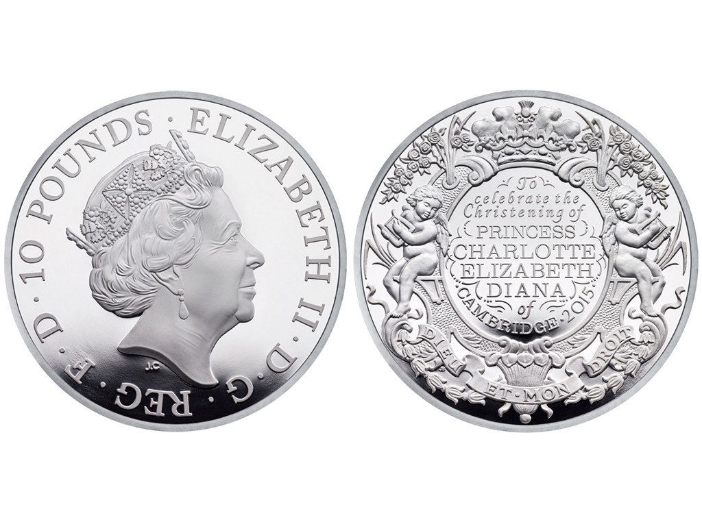 Princess Charlotte's Christening Coin